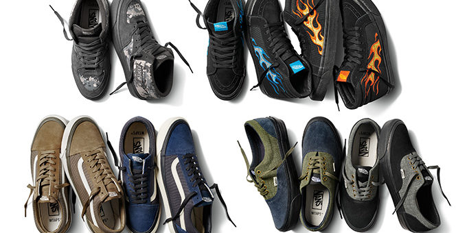 WTAPS x Vans Vault 2018 Collection Release