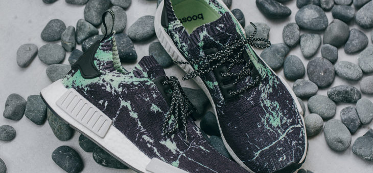 Adidas NMD R1 PrimeKnit Mint Marble Release