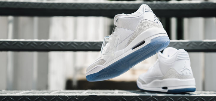 "Air Jordan Retro 3 ""Pure White"" Release"