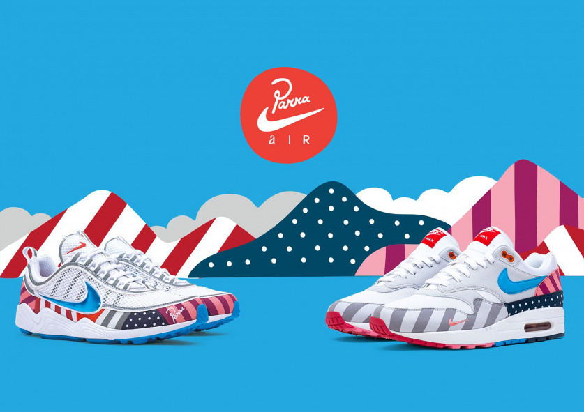 Dutch designer Piet Parra is bringing another unique collaboration to Nike  with the Parra x Nike Air Max 1 and Spiridon. This is the artist s third  take on ... 8552616b6