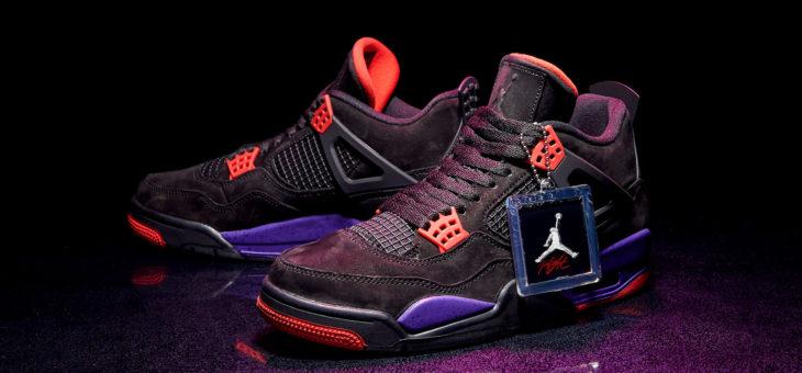 """Air Jordan IV Retro NRG """"Raptors"""" Release"""