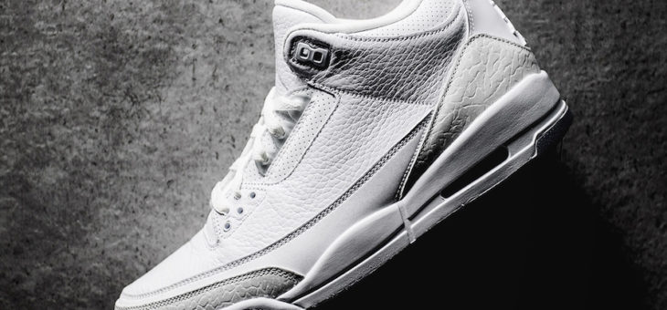 Get the Jordan 3 Retro Pure White for $140 Shipped