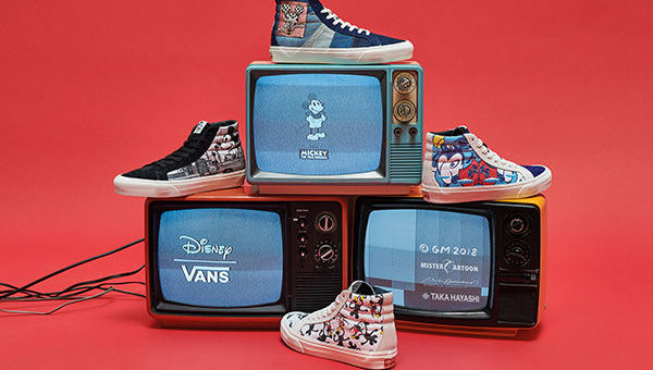 Disney x Vans Vault Micky 90th Collection Release
