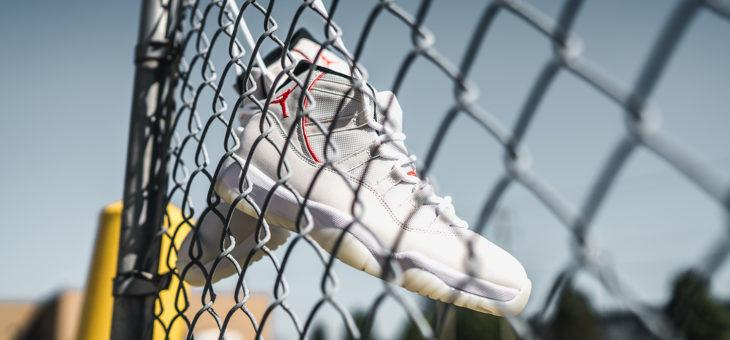 Jordan Retro 11 Platinum Tint Release