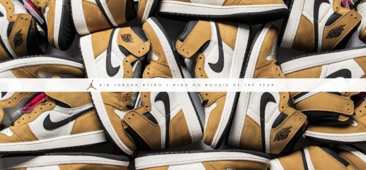 "Air Jordan Retro 1 OG ""Rookie Of The Year"""