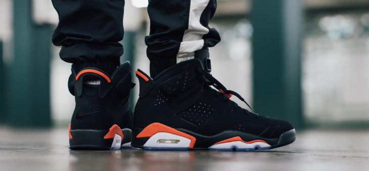 Air Jordan Retro 6 OG Black Infrared