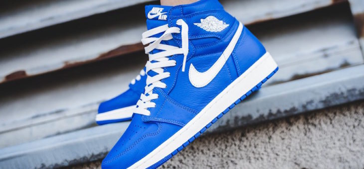 Air Jordan 1 Retro OG 'Hyper Royal' on sale for just $104